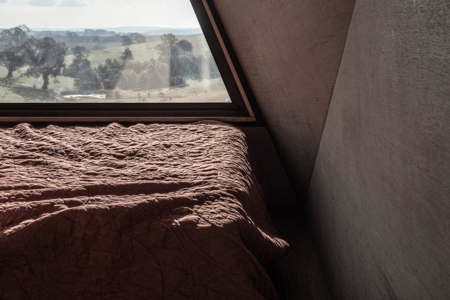 base cabin bedroom