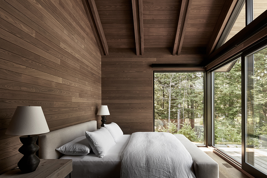 Metrick Cottage and Boathouse bedroom