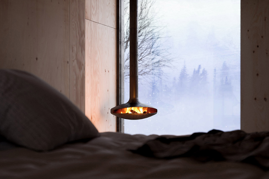 The Mountain Refuge bedroom