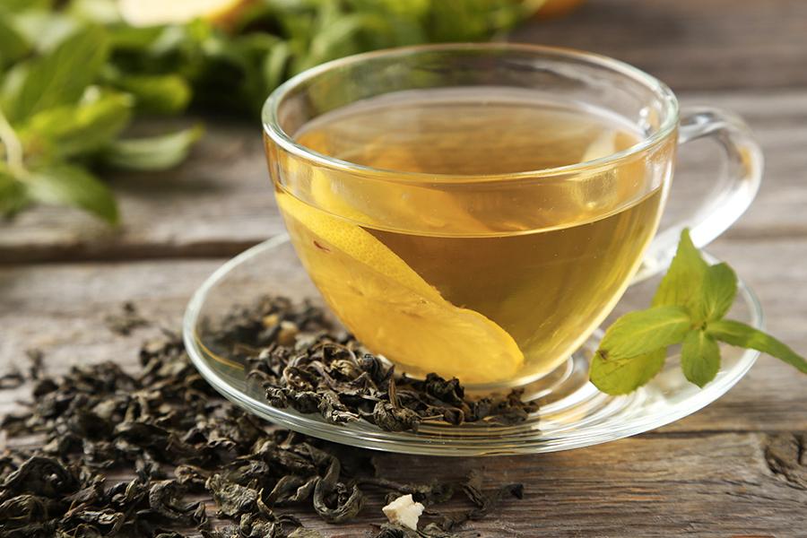 immunstärkende Lebensmittel - Grüner Tee