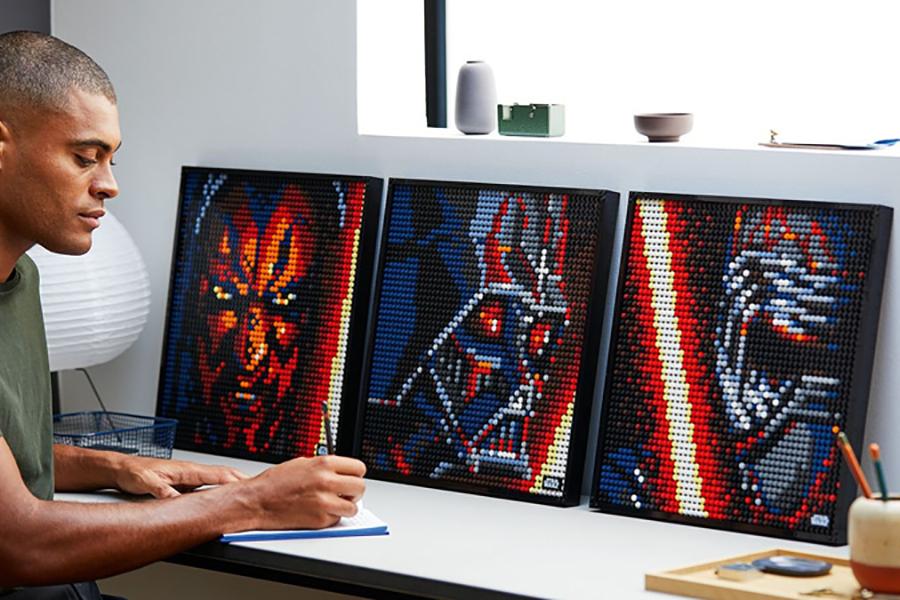 Lego hat eine neue Reihe von baubaren Pop-Art-Star-Kriegen