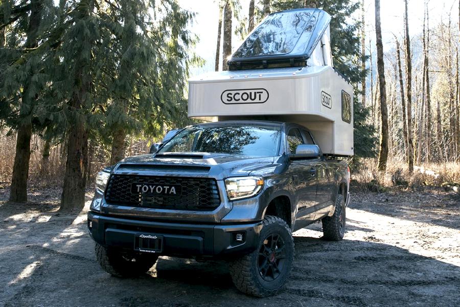 Der Scout Olympic Camper ist bereit für einen Roadtrip