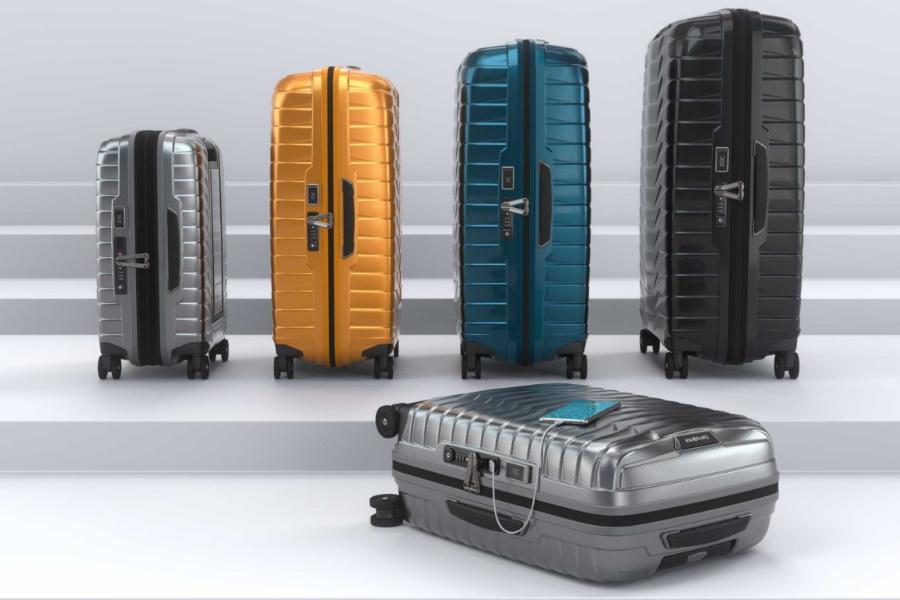 Samsonite hat ein neues Material für sein Proxis-Gepäck der nächsten Generation erfunden