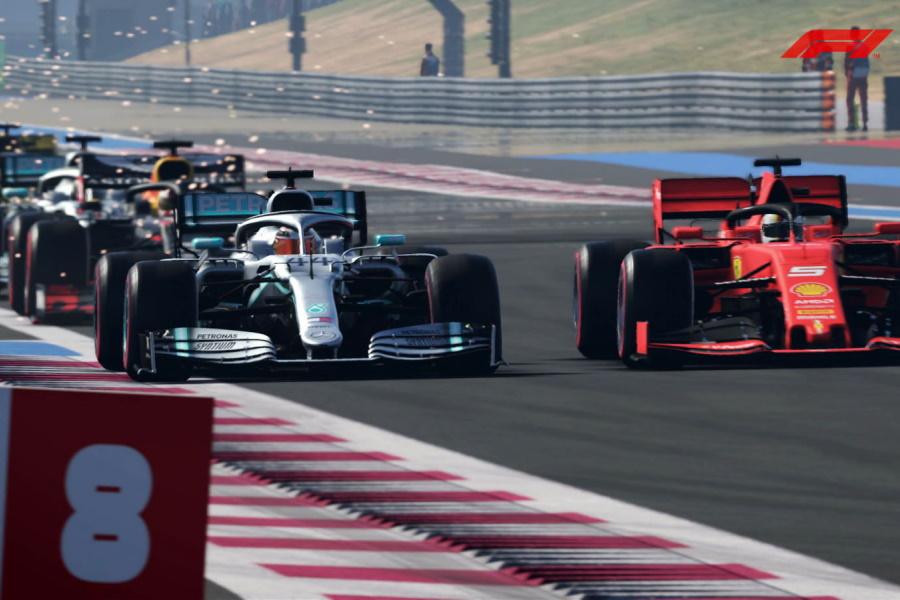 F1 2020 belegt den ersten Platz auf dem Gaming-Podium