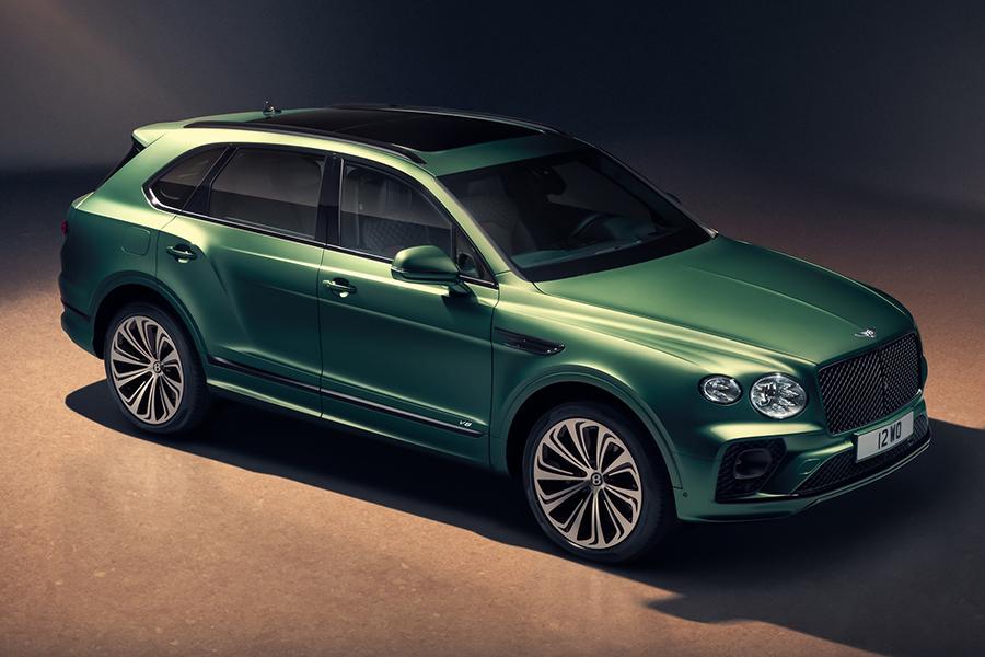 2021 Bentley Bentayga ist ein Luxus-SUV mit 540 PS