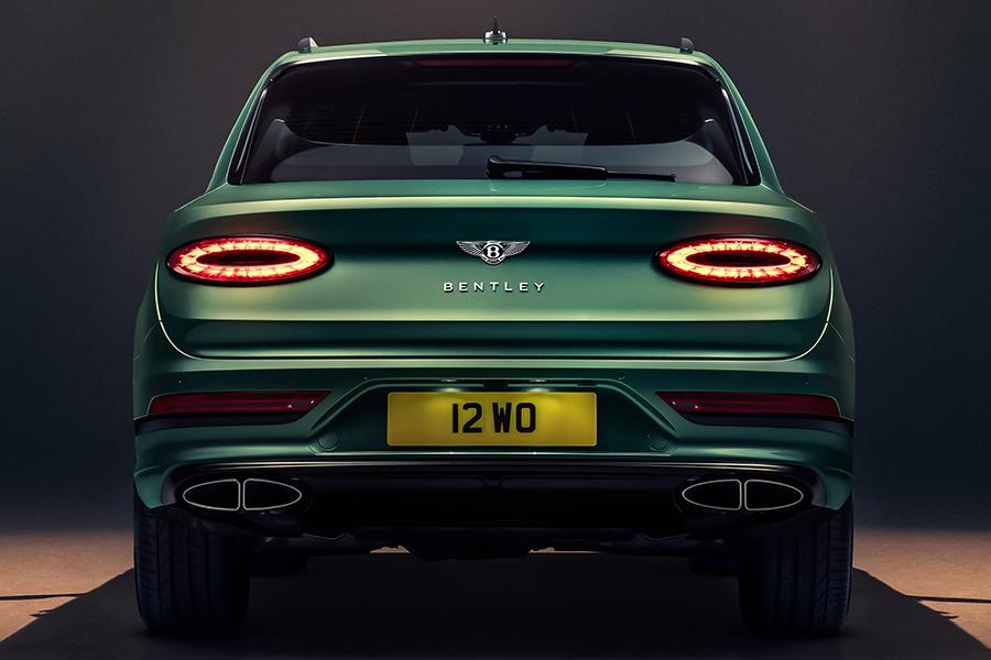 Bentley Bentayga SUV zurück