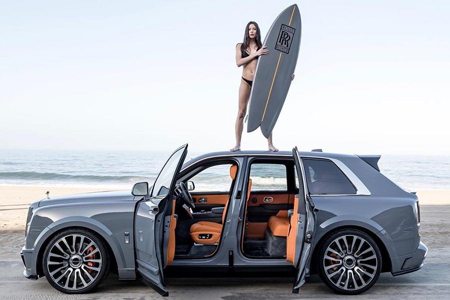 Rolls-Royce Cullinan erhält eine Surf Edition mit Board