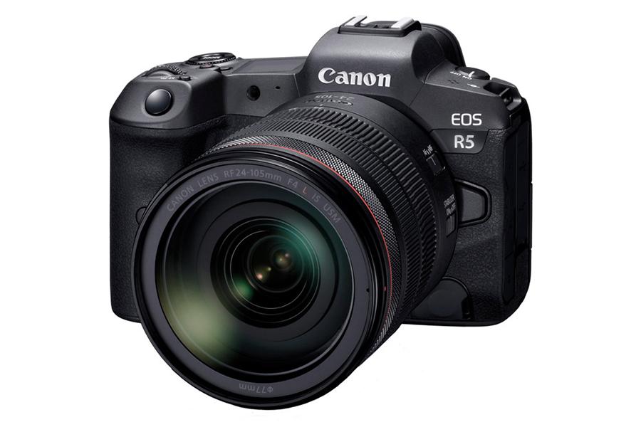 Canon Mirrorless EOS R5 Packt einen 8K Punch
