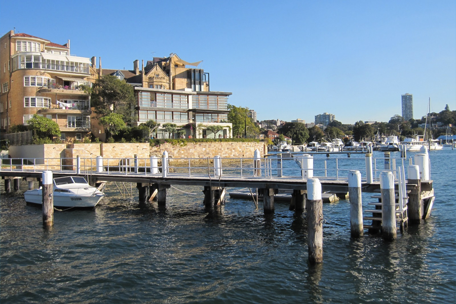 Highest-earning suburbs australia - double bay