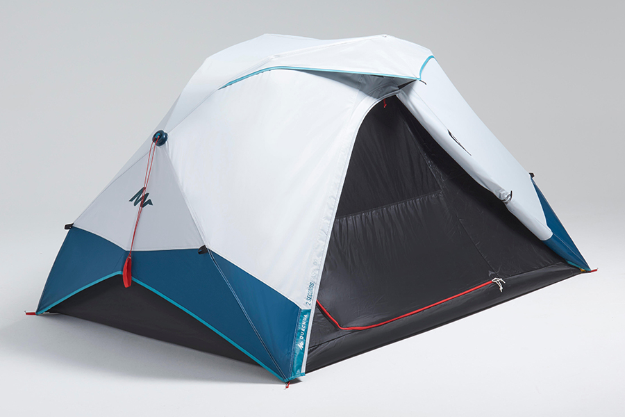 2 Seconds Easy Tent back view