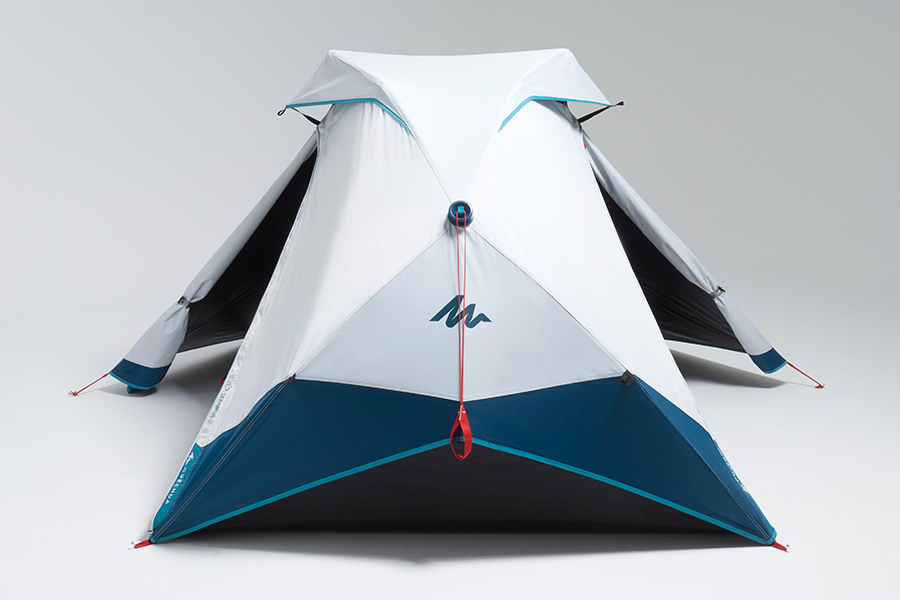 2 Seconds Easy Tent side view