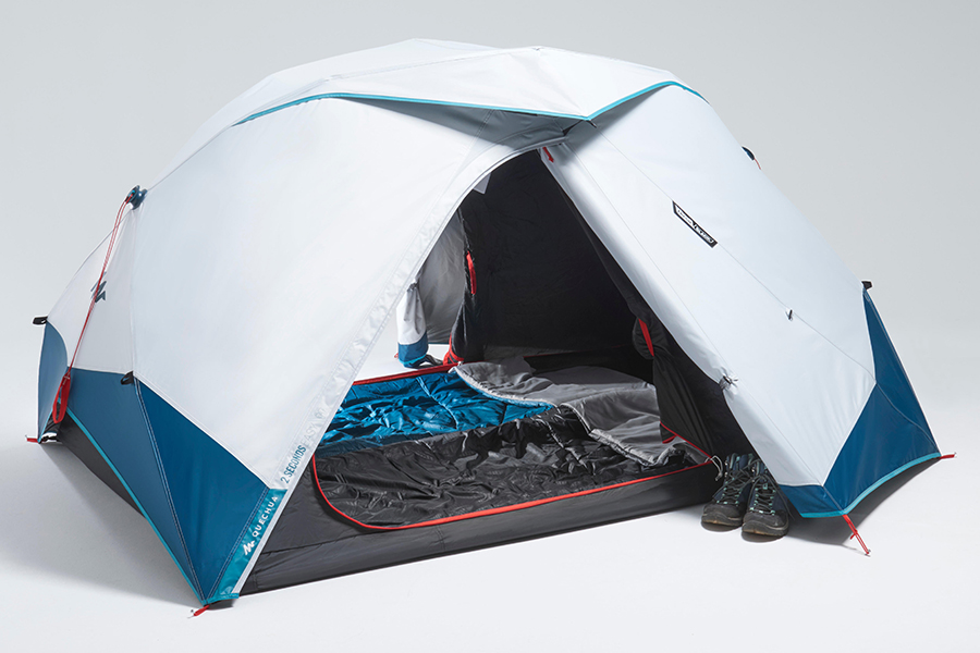 Decathlon's 2 Seconds Easy Tent Says it All