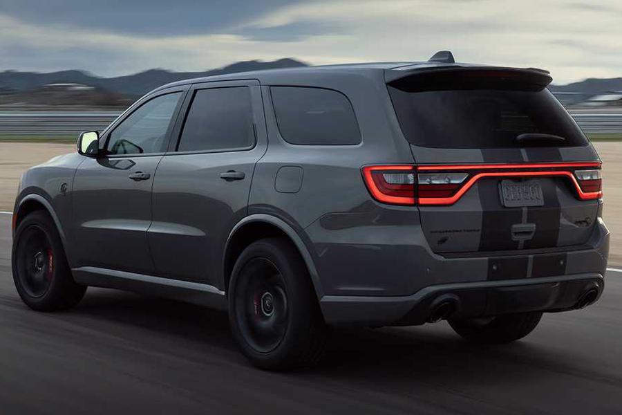 2021 Dodge Durango SRT back side view