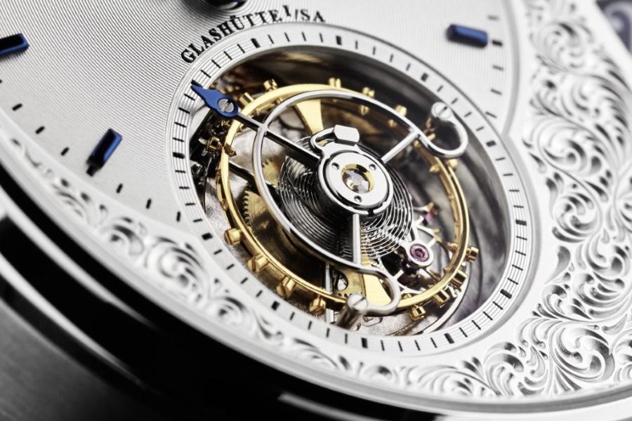 Glashütte Original Uhr in limitierter Auflage