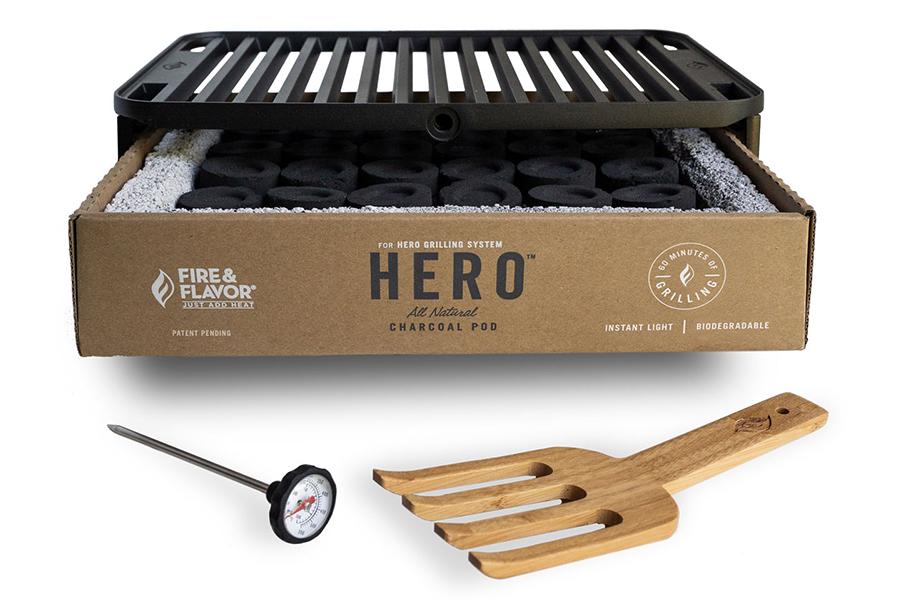 Hero Grill System mit Zubehör