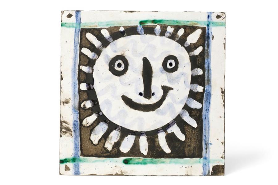 Picasso Werke und Sammlung Visage Soleil