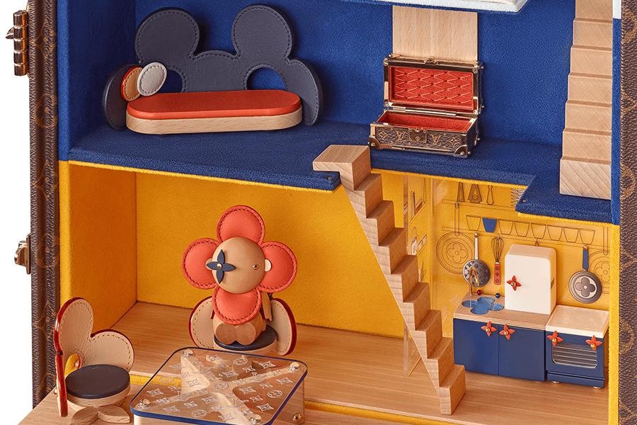 LV Puppenhaus Maison Vivienne Treppe