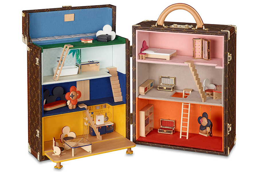 Lebe ein LV Das Leben lebte im Maison Vivienne Doll House