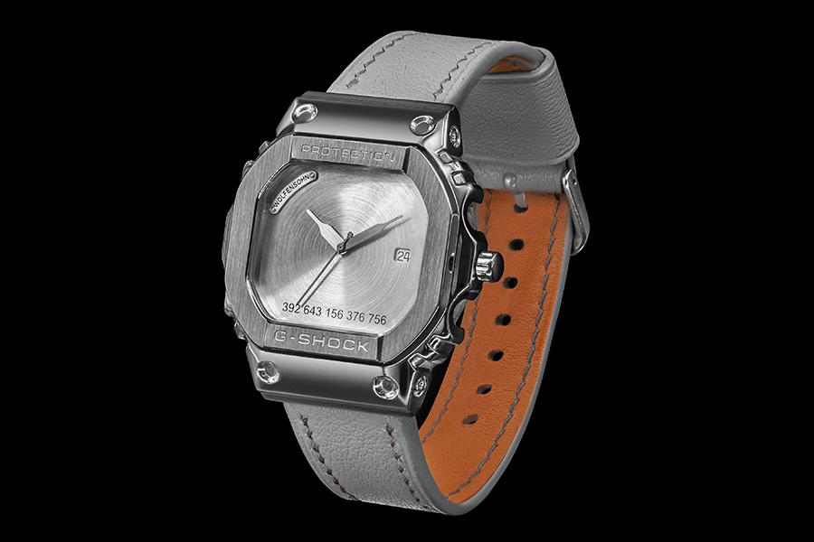 Schweizer Uhrwerk Gshock graue Uhr