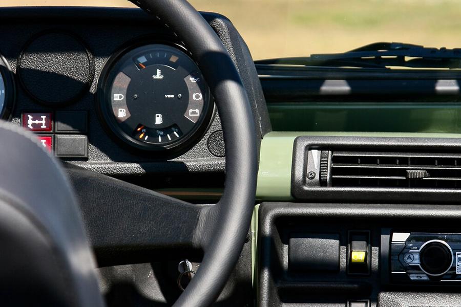1990 Mercedes Benz G Wagen Custom Build Lenkrad
