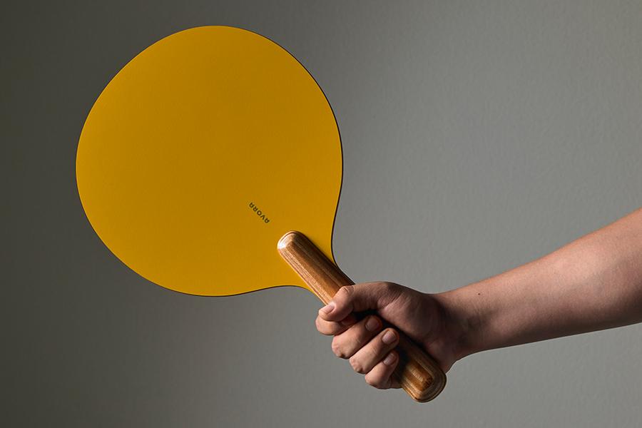 wie man Avora Ping Pong Paddel hält