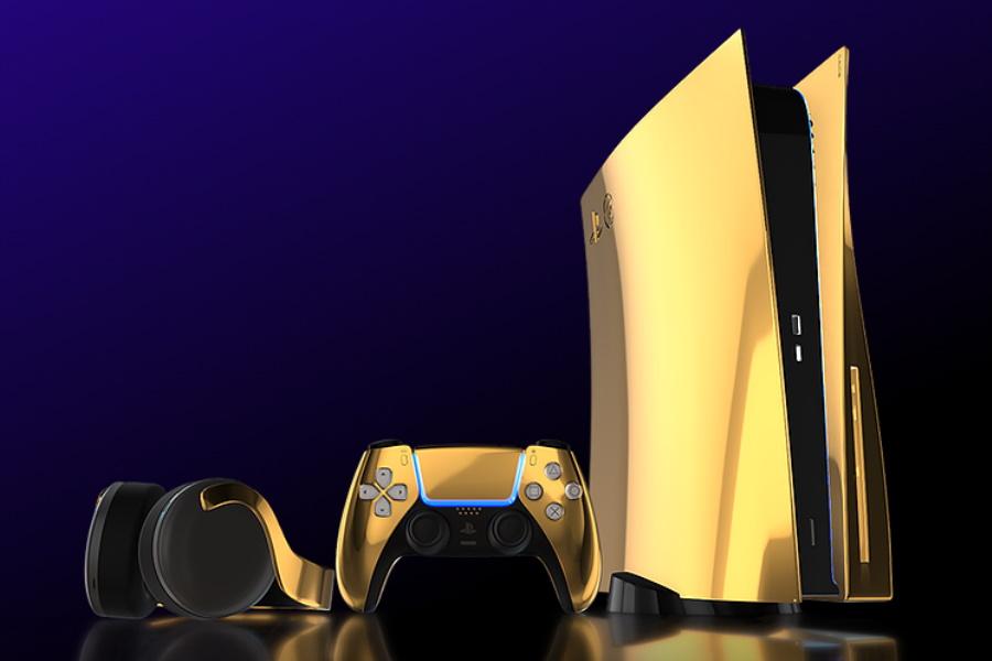 24K Gold Sony Playstation 5 Vorbestellbar
