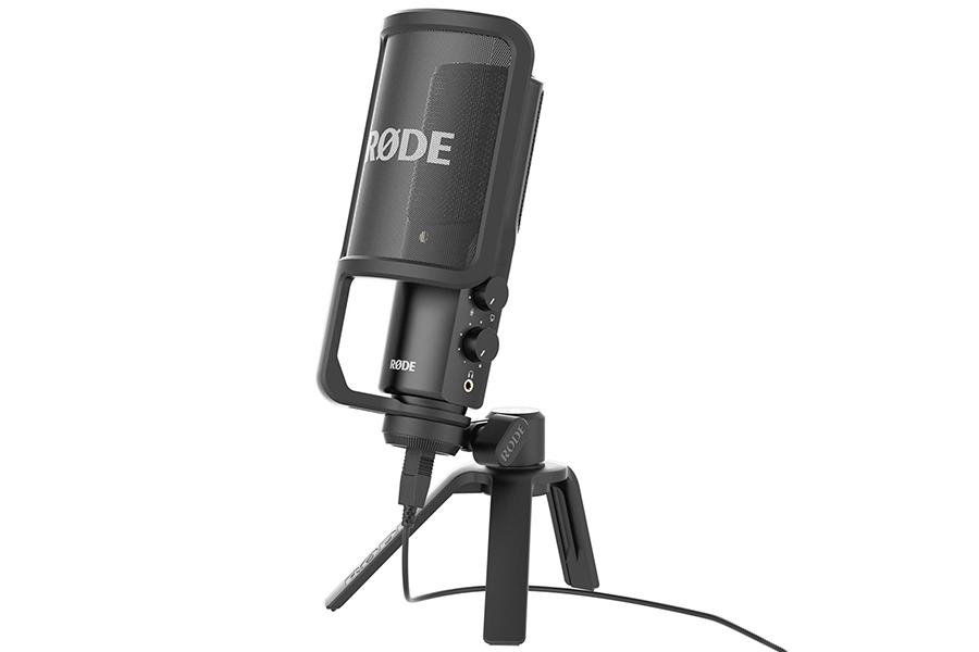 Holen Sie sich den besten Sound mit dem NT-USB-Mikrofon von RODE