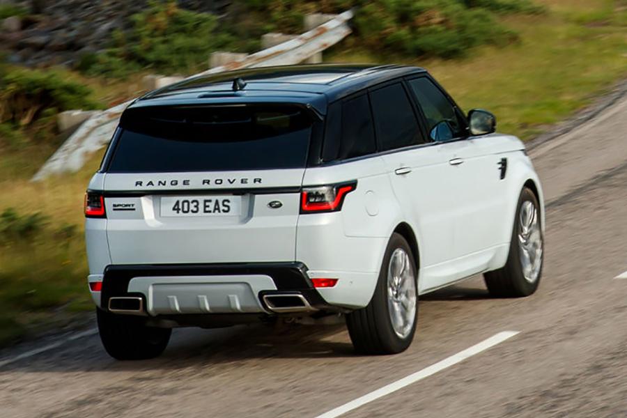 2021 Range Rover Sport enthüllt, debütiert SVR Carbon Edition Rückansicht