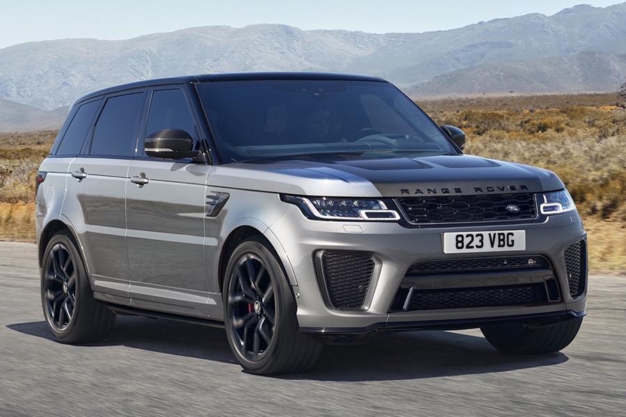 Land Rover debütiert 2021 Range Rover Sport SVR Carbon Edition