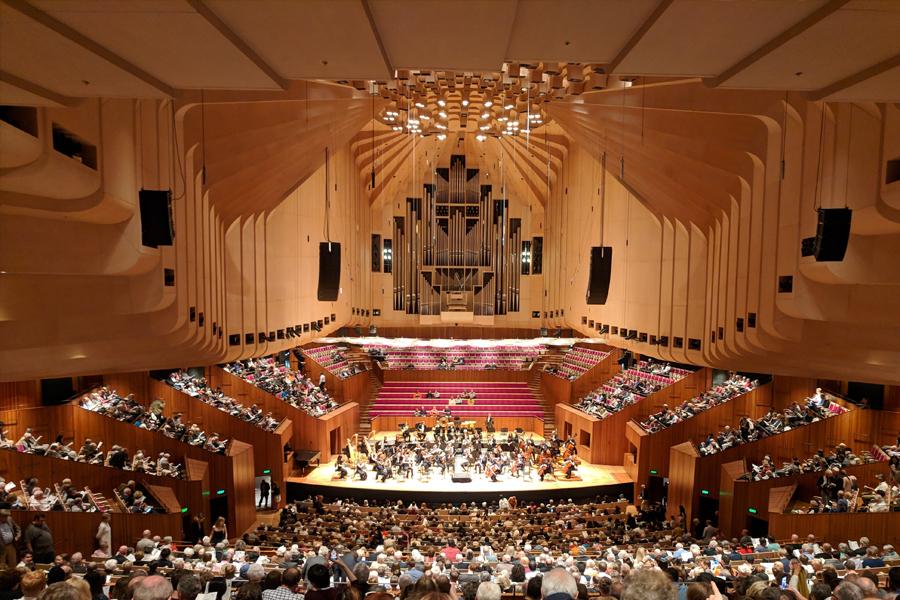 Veranstaltungsort für Live-Musik im Opernhaus