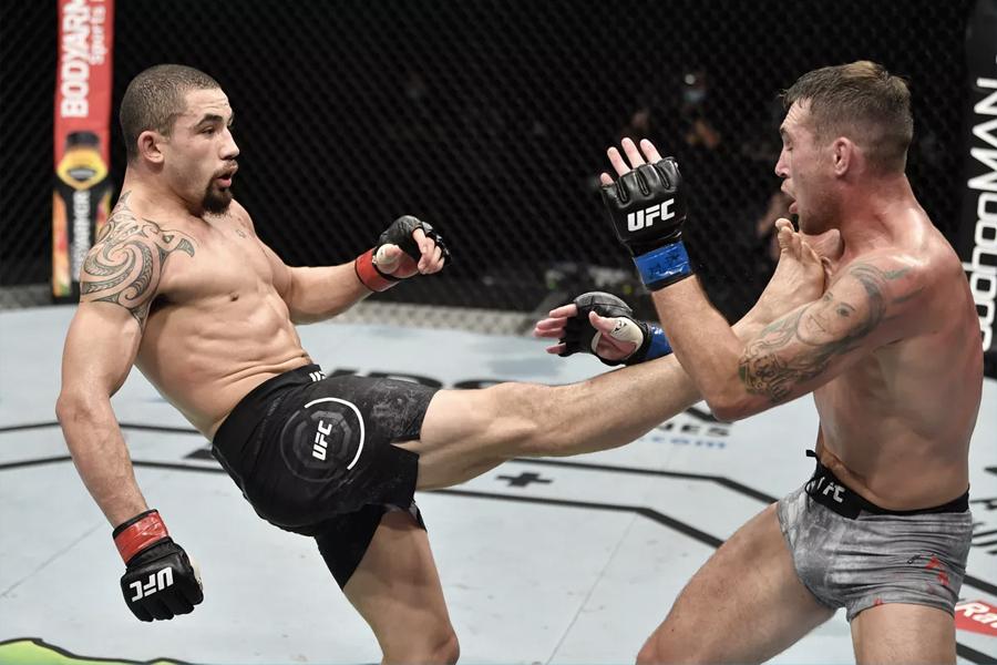UFC Whittaker gegen bis