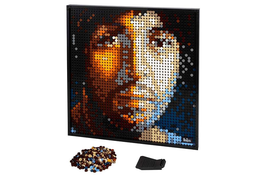 Lego hat eine neue Linie von baubaren Pop-Art-Mann-Image
