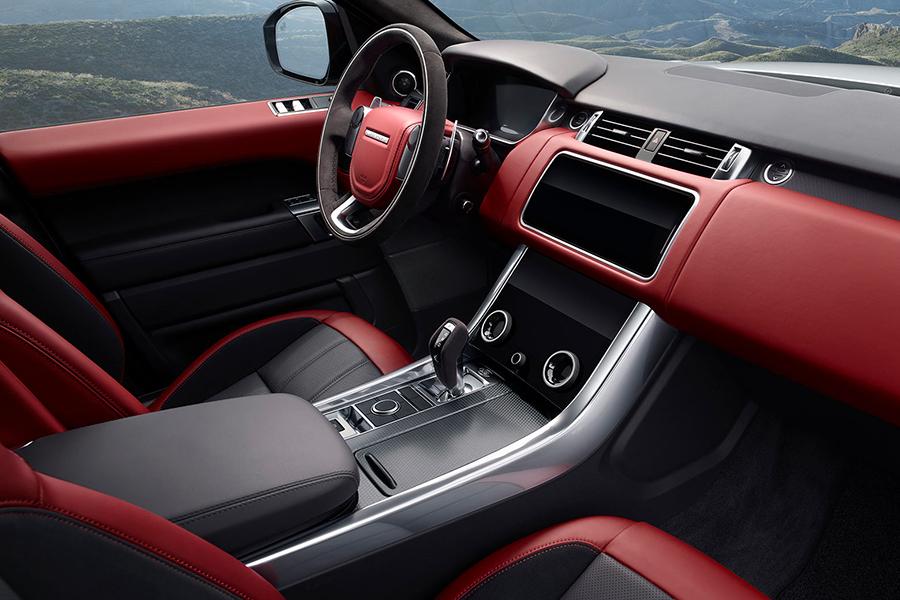 2021 Range Rover Sport enthüllt, debütiert SVR Carbon Edition Armaturenbrett und Lenkrad