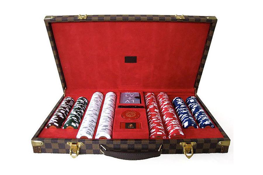 Louis Vuitton Poker Set Innenansicht