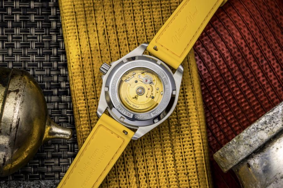 William Holz Feuerwehrschlauch Uhrenarmband