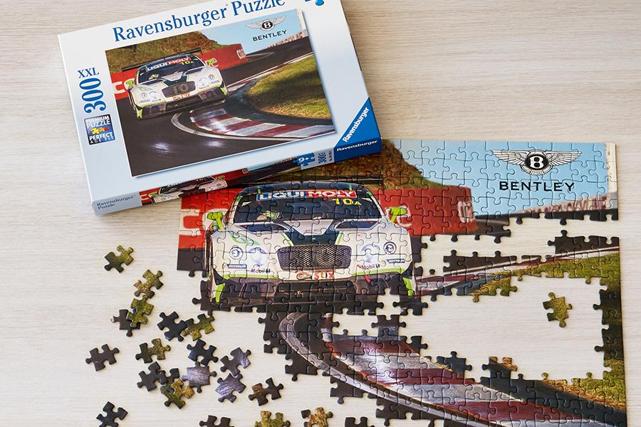 Bentley Kinderspielzeug Puzzle Auto
