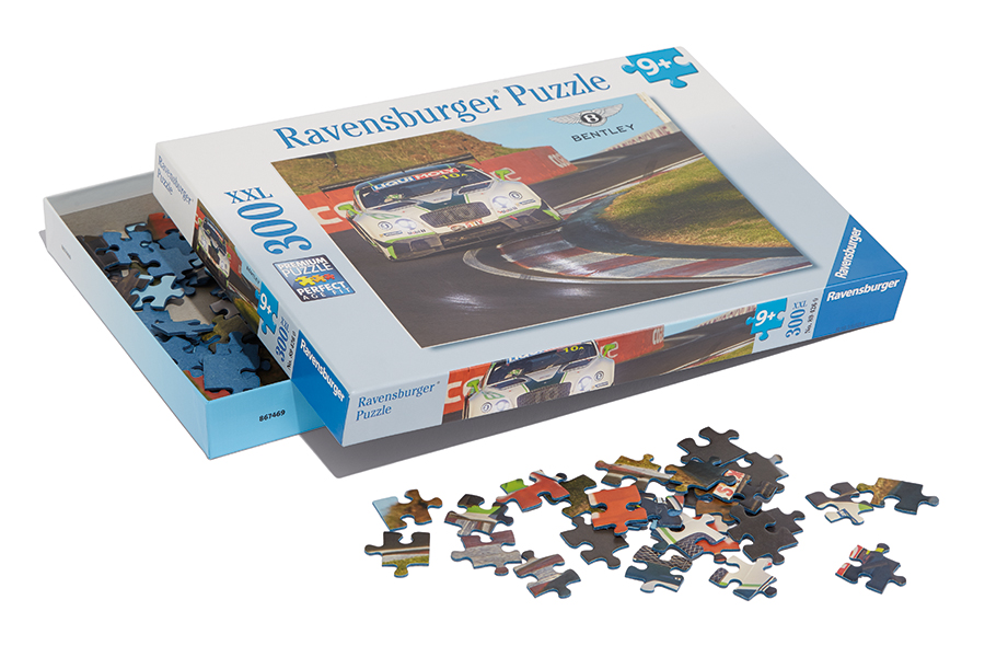 Bentley Kinderspielzeug Puzzle