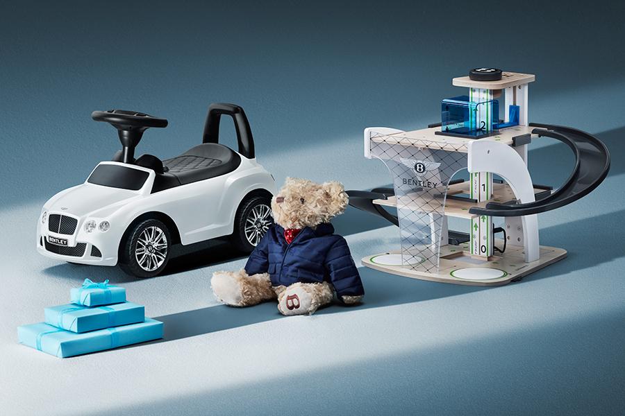 Bentley Toys ist nicht nur für Erwachsene, sondern auch für Kinder