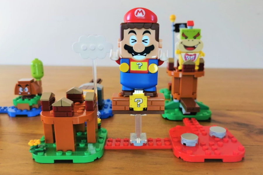 Hands-On mit den interaktiven LEGO Super Mario Sets