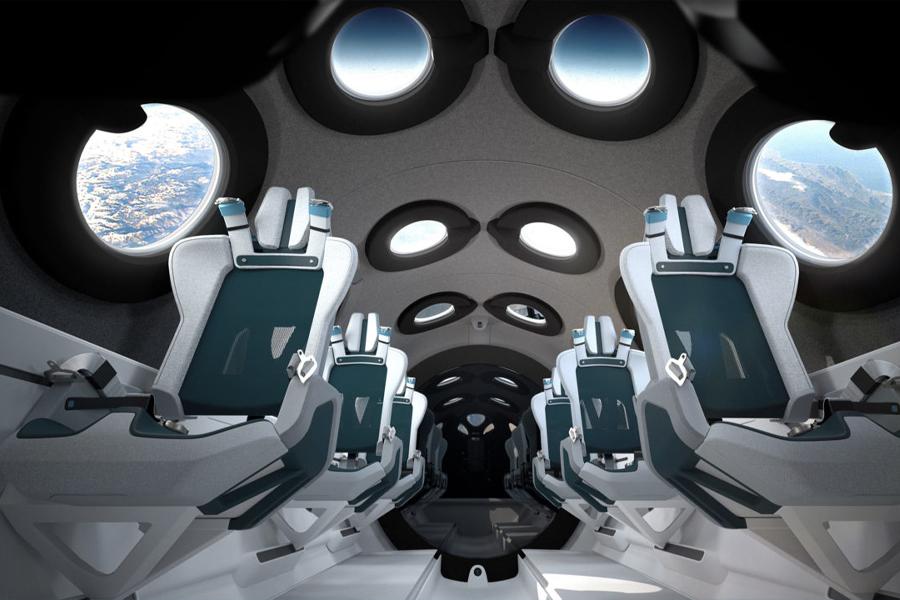 Erster Blick in das neue Space Shuttle von Virgin Galactic