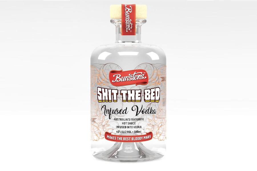 """""""Shit the Bed"""" Hot Sauce Infused Vodka ist jetzt eine Sache"""