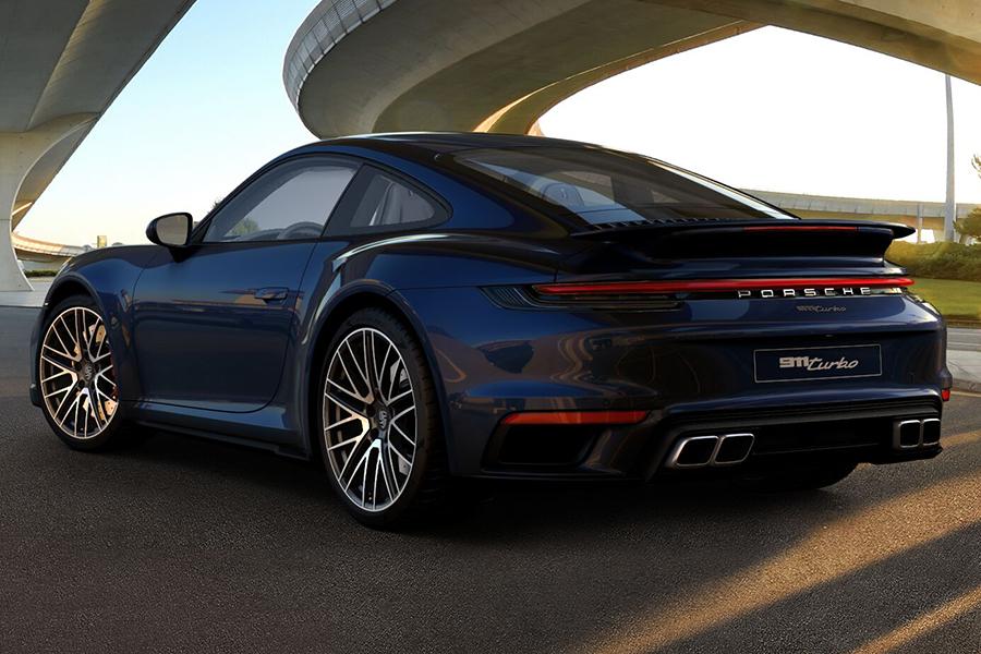 Porsche 911 Turbo 2021 Rückansicht