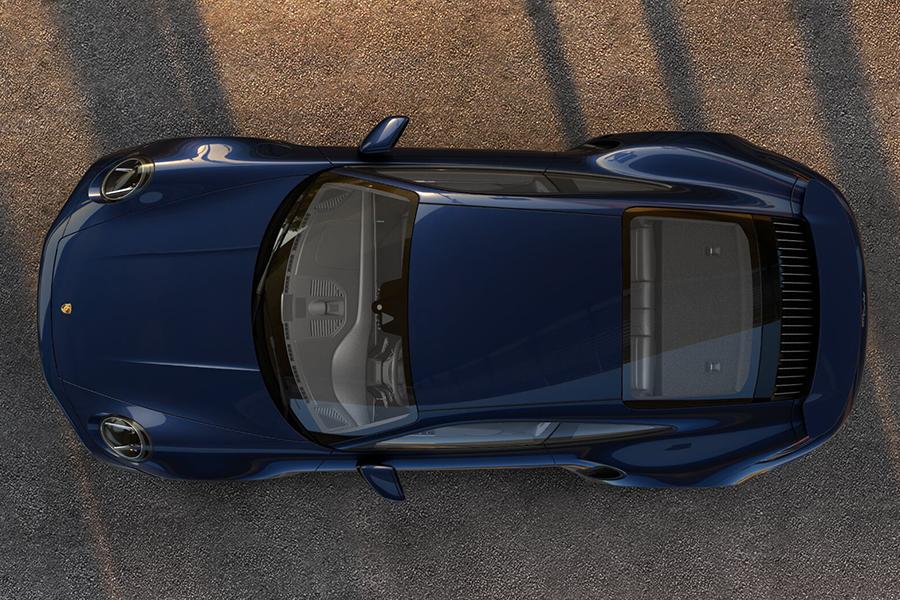 Porsche 911 Turbo 2021 Draufsicht