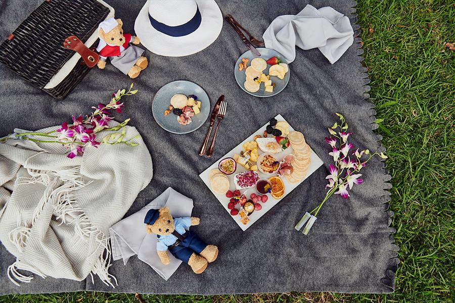 Vermächtnis trägt Picknick