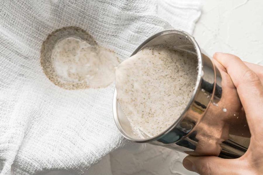 Lebensmittel, die Ihnen beim Schlafen helfen - Hanfmilch