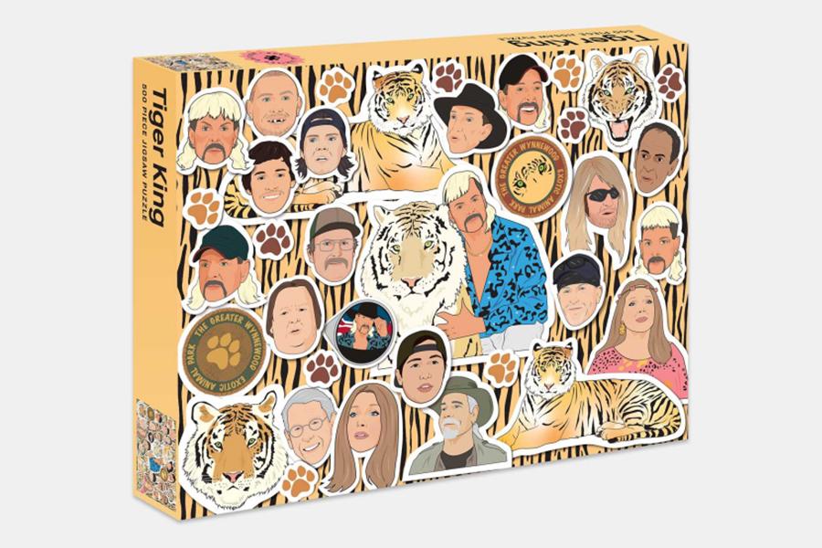 Tiger King Puzzle bringt den Wahnsinn nach Hause