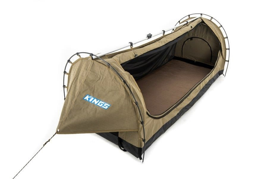 bestes Beutezelt für Camping - Kings Deluxe Single Swag