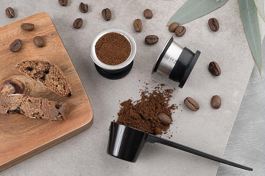 Wie wiederverwendbare Kaffeepads Ihnen Geld sparen können