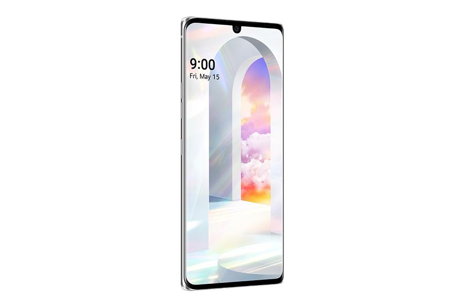 LG Velvet Smartphone Seitenansicht