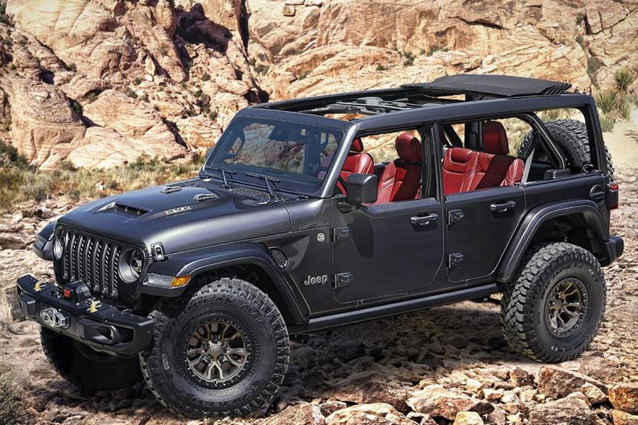 Jeep beantwortet Gebete mit V8 Wrangler Rubicon 392 Concept